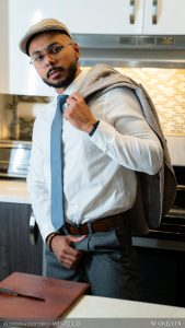 Camsrating Milo Madera kitchen photoshoot