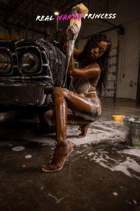 hot babe carwash