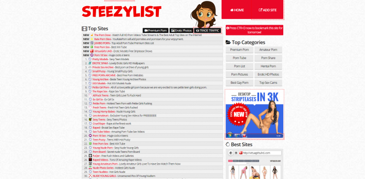 Steezy List camsrating