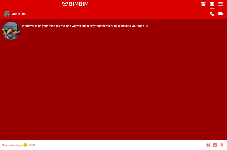 bimbim chat