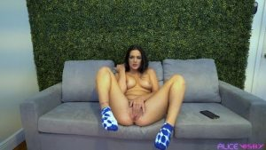 Camming and Cumming With Alice Visby, the Horny Temptress